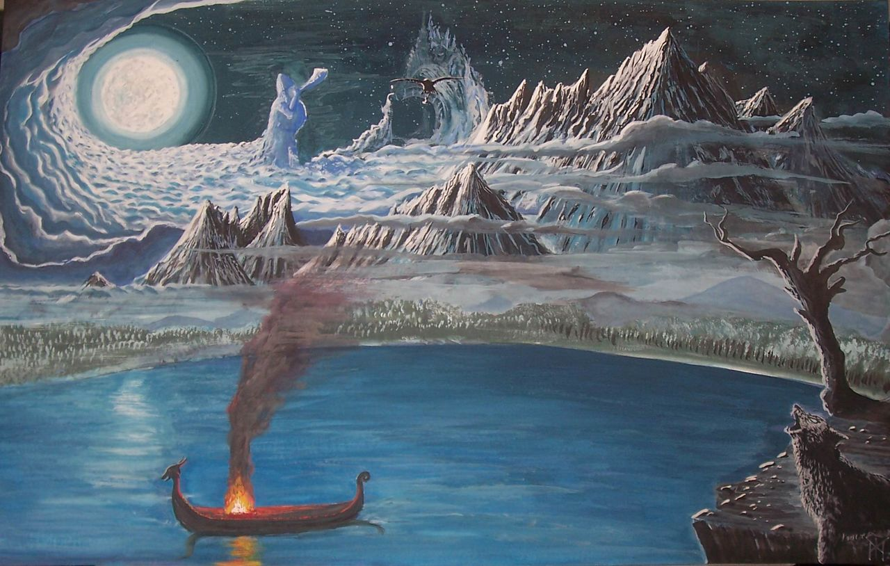 iskandinav mitolojisi - midgard