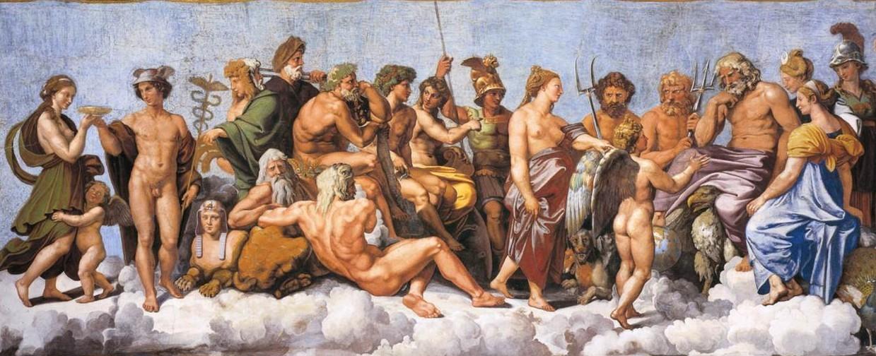 Yunan Mitolojisi Tanrıları