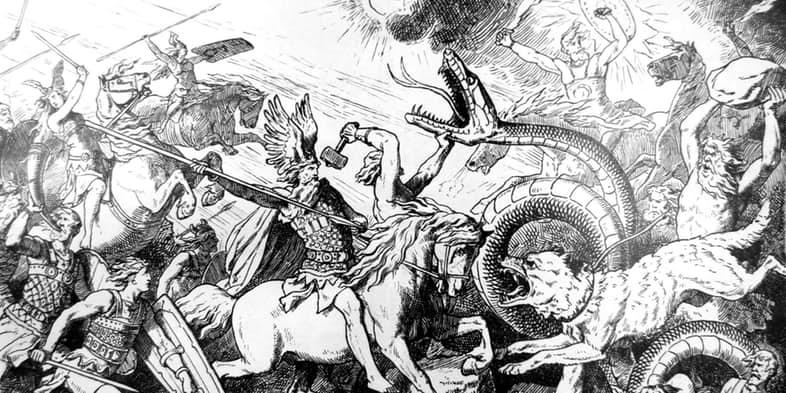 iskandinav mitolojisi - Ragnarok