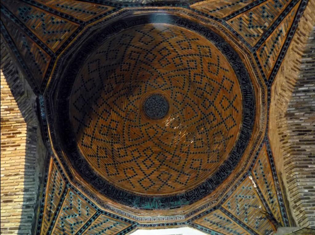 eşrefoğlu camii kubbesi