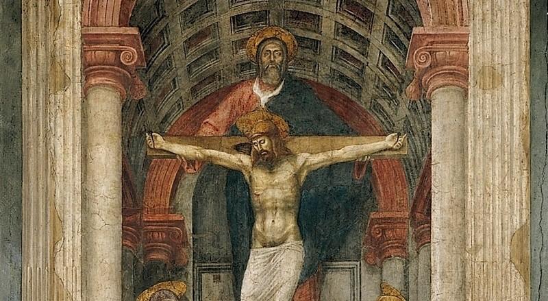 Kutsal Üçlü Freski