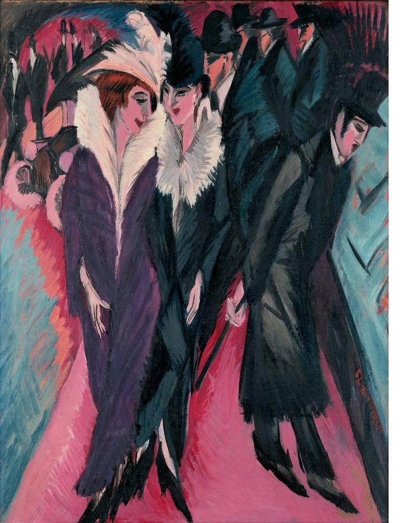 Ekspresyonizm - Ernst Ludwing Kirchner