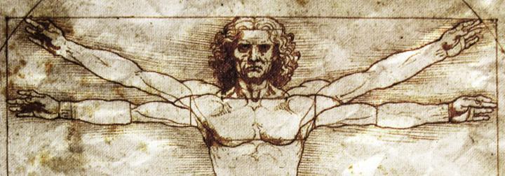 Leonardo Da Vinci'nin Vitruvius Adamı