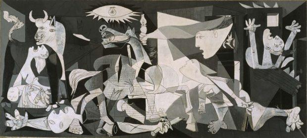 Picasso'nun Guernica Tablosu