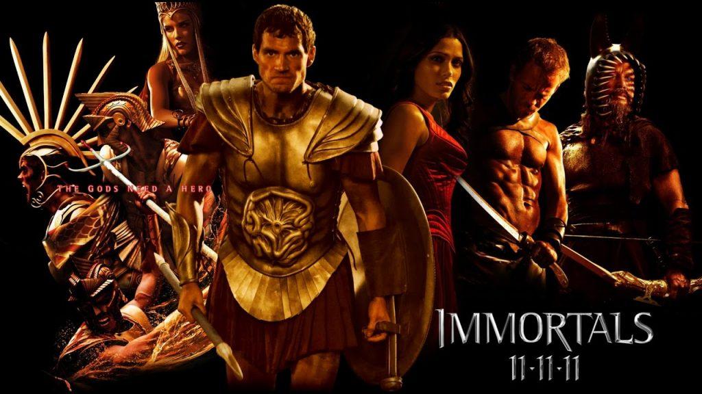 mitolojik filmler - immortals
