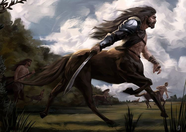 mitolojik yaratiklar - centaur