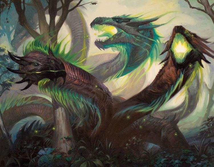 mitolojik yaratiklar - hydra