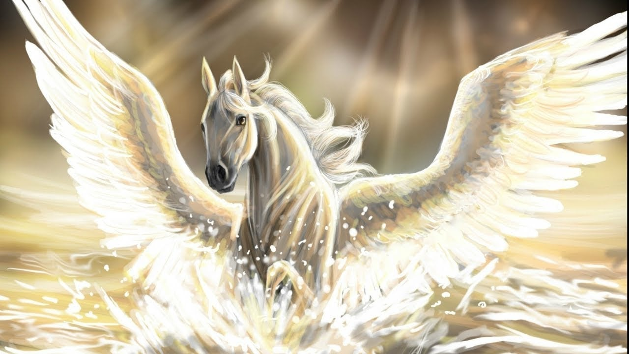 mitolojik yaratiklar - pegasus