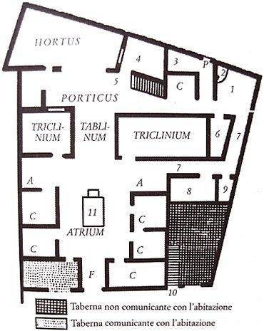 pompei plan