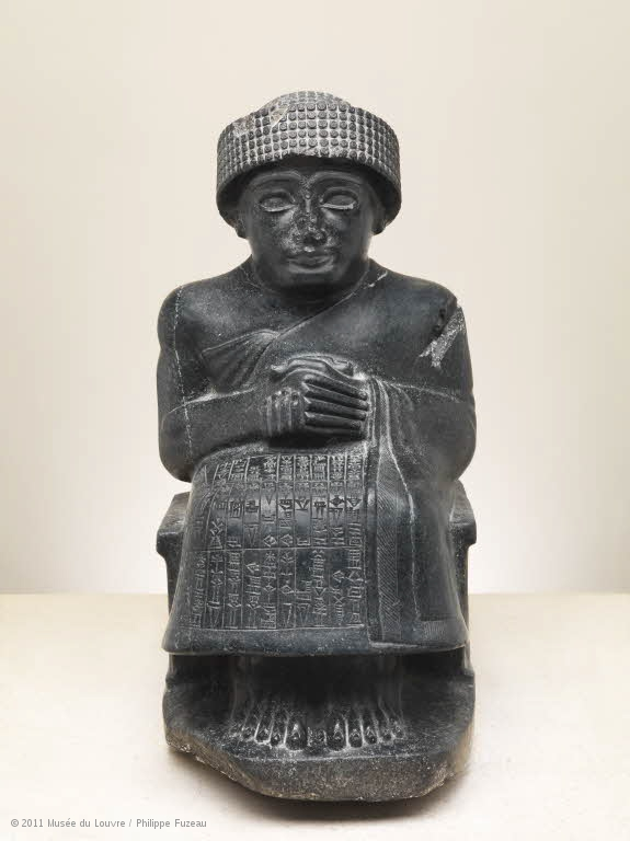 gudea heykeli