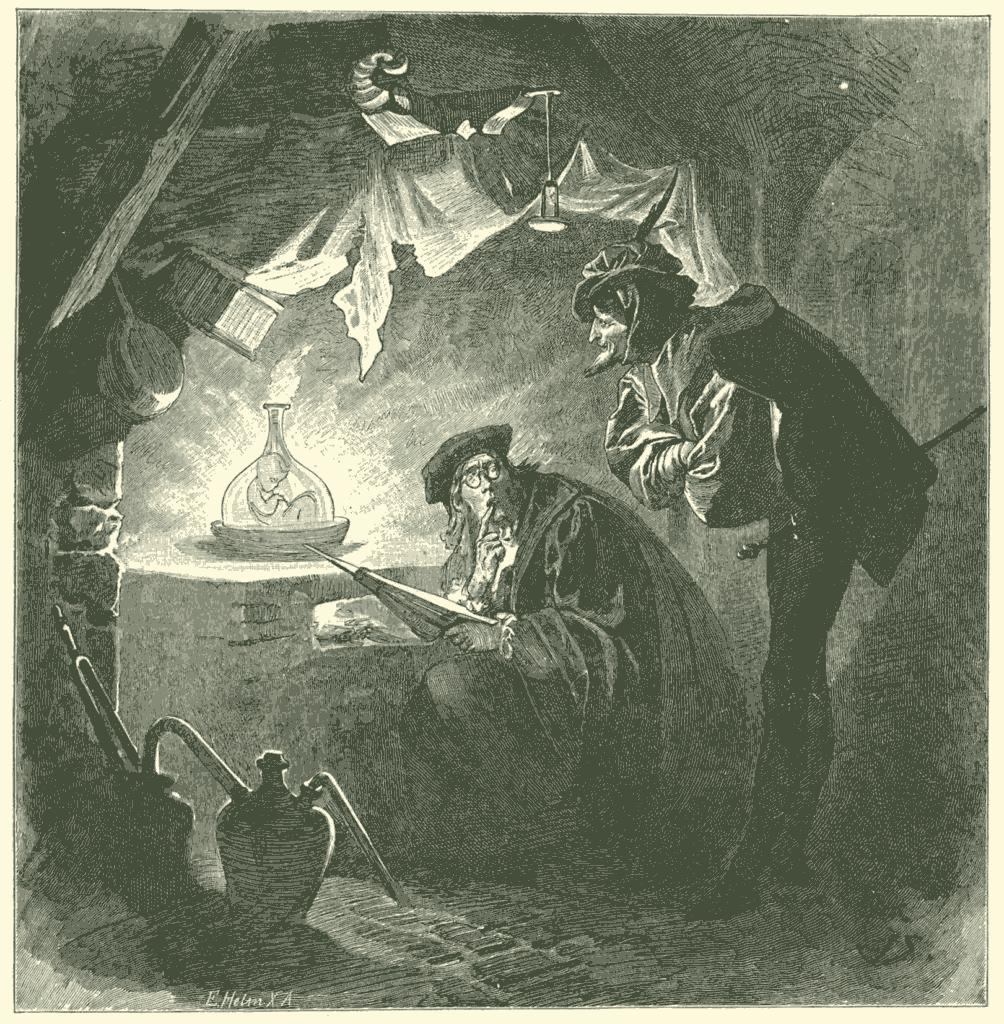 Franz Xaver Simm'in Faust İllüstrasyonu (1853-1918)