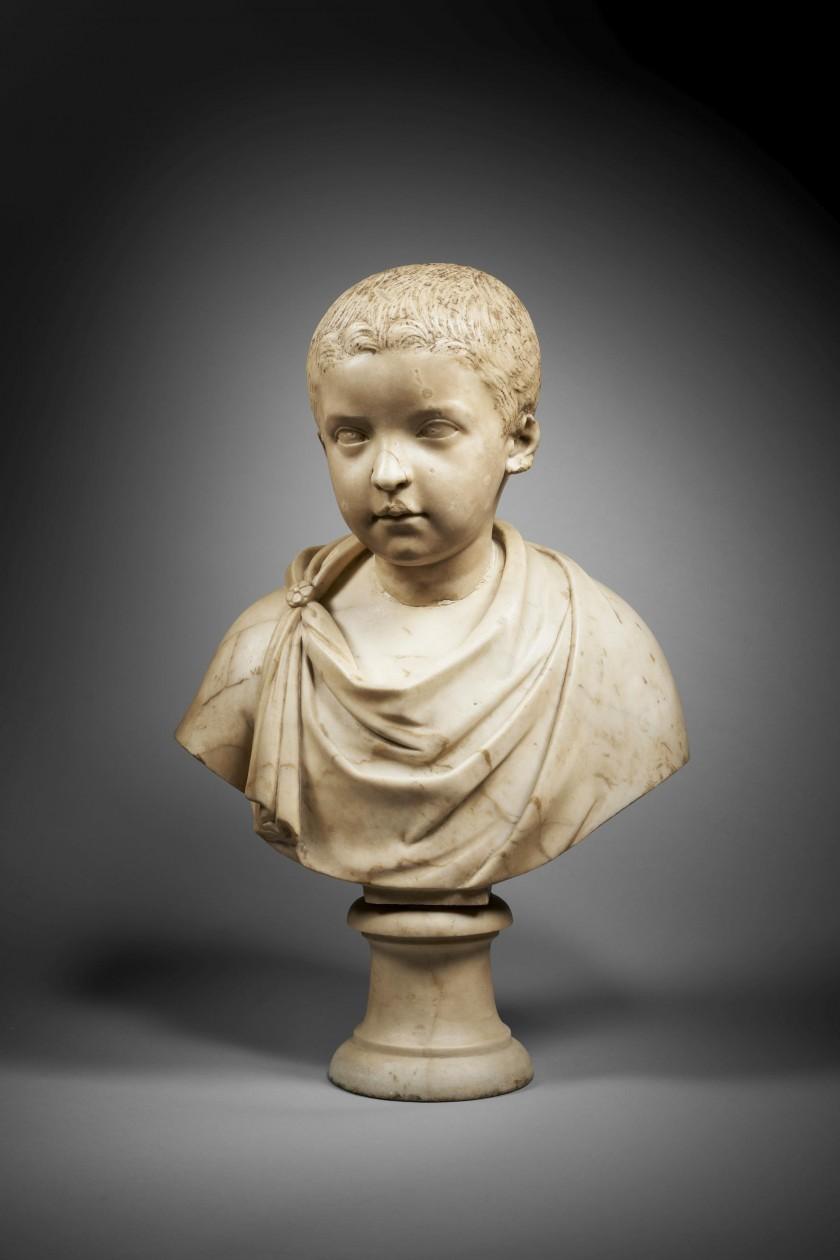 romalı çocuk büstü