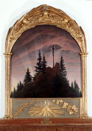 Caspar David Friedrich, Dağlardaki Haç